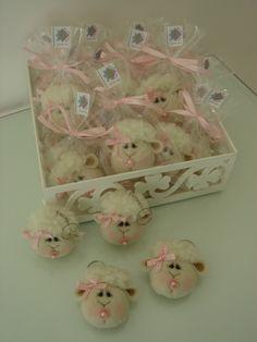 Little sheep keychain