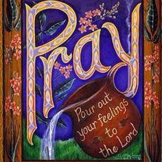 Pray... and pray..