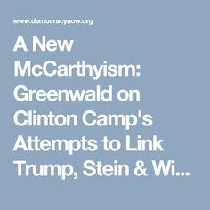 Link Trump, Stein & WikiLeaks to Russia