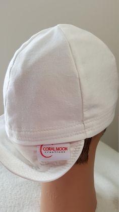 9f69d9943ac White welding hat or solid white welders cap