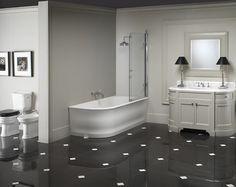Devon & Devon - love the classic lines and floor tiles