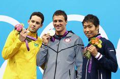 USA's Ryan Lochte wins Gold