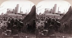 Women Loading Ships with Coal, Fort de France, Martinique, ca 1900