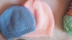 Easy Baby Beret Model and Making . - Knitting a love Baby Hats Knitting, Knitted Hats, Crochet Hats, Knitting Designs, Knitting Patterns, Moda Emo, Viking Tattoo Design, Sunflower Tattoo Design, Best Beauty Tips