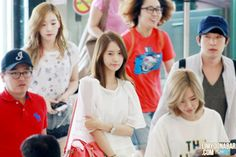 Yoona at Gimpo Airport on June 28, travelling to Beijing with SNSD mates for the annual Korea-China Music Festival.