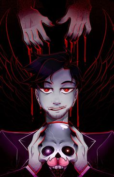 Darkiplier: Fallen Angel by DarkMagic-Sweetheart