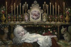 BetweenMirrors.com | Alt Art + Culture Collective: Mark Ryden - King of Pop Surrealism