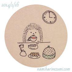#ハリネズミ 29 #hedgehog #drawing