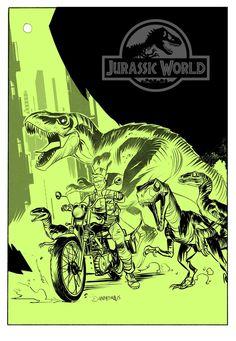 Jurrasic World by Dan Mora *