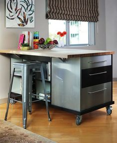 Choose Furniture On Wheels If You Want Mobility  Useful on so many levels