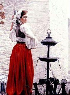 Bosnian lady