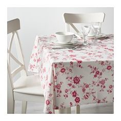 IKEA - INBJUDANDE, Tablecloth, The tablecloth both protects the table and creates a decorative table setting with atmosphere.