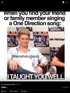 My brother was singing  drag me down, slow hands today in the morning and I was in the same position and I said the same sentence 😂 0ne Direction, One Direction Imagines, I Love One Direction, English English, Slow Hands, Artsy, Santa, Brother, Hairstyles