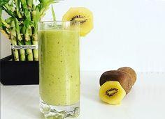 Smoothie Drinks, Smoothies, Kiwi, Cantaloupe, Fruit, Green, Food, Diet, Smoothie