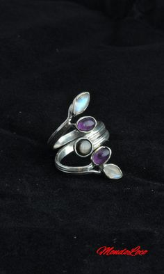 Check out this item in my Etsy shop https://www.etsy.com/uk/listing/498447239/multistone-adjustable-ring