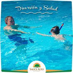 Sauce Alto | Nadar es un ejercicio beneficioso para el sistema cardiovascular y respiratorio. Ven a Sauce Alto y disfruta de nuestras instalaciones.
