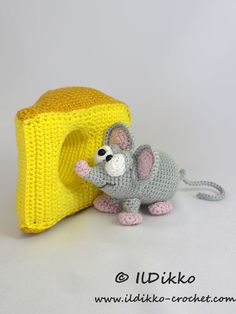 Manfred the mouse - Amigurumipatterns.net