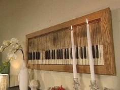 Decorating Cents Trash to Treasure | Trash To Treasure Decorating | Trash to Treasure: Pipe Organ Pieces ...
