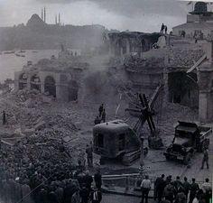 Karaköy yıkımları...1957