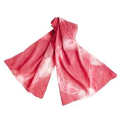 Zink Collection - Handmade Watercolor Shibori Scarf or Shawl- Coral Pink, $55 (http://www.zinkcollection.com/handmade-watercolor-shibori-scarf-or-shawl-coral-pink/)