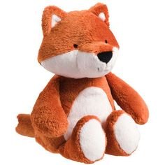 Plush Fox. Um if anyone is at a loss for what to get me foe Christmas :)