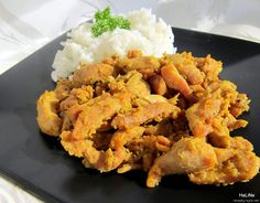Nejedlé recepty: Marinované kuřecí  - inspirace indická