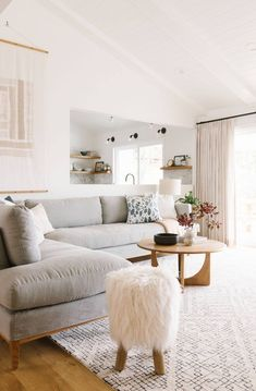 If you're shopping around for a new color scheme that will suit the central hub in your home, you're in luck. We've created the ultimate guide of living room color ideas to help you narrow the search. From the perfect neutral refuge for those who don't wear color to any vibrant maximalist's dream, we've covered every living room hue you can imagine. #hunkerhome #livingroom #livingroomcolorideas #livingroomideas #livingroomdecor