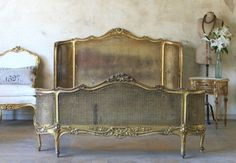 Check out our newly added furniture and decor items! From furniture to lighting, to accessories and more, you're bound to find the perfect item for your home. Home Bedroom, Bedroom Furniture, Master Bedroom, Bedroom Themes, Bedroom Decor, Bedroom Ideas, Vintage Furniture, Painted Furniture, Fence Headboard