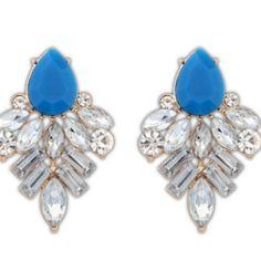 Blue Tiffany Earrings from Trendi737 Jewelry for $12.00
