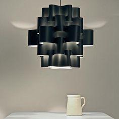 Black Sun Carbon 50 Pendant Light :: Karboxx