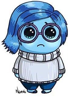 Inside out · sadness kawaii cute, chibi kawaii, cute kawaii drawings, kawaii kawaii girl Kawaii Girl Drawings, Kawaii Art, Disney Drawings, Cartoon Drawings, Easy Drawings, Drawing Disney, Chibi Kawaii, Kawaii Disney, Cute Disney