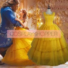 2017 New Movie Beauty and the Beast Belle Princess Dress Cosplay Costume Disney Cosplay Costumes, Disney Princess Costumes, Movie Costumes, Maid Cosplay, Cosplay Dress, Halloween Ideas, Halloween Party, Halloween Costumes, Princess Belle Dress