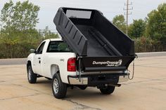 Steel dumping-bed inserts for pickup trucks fit both 6- and 8-ft. truck beds, polymer option for 8-ft. truck beds