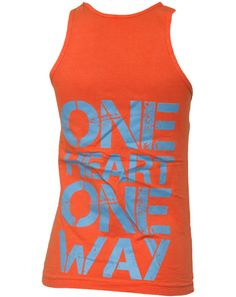 (back view) One Heart One Way! Love these colors.