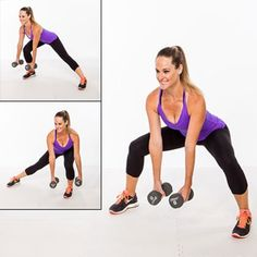 Try these lower-body exercises that will tone and sculpt your butt, hips and thighs. Get ready for short and swimsuit weather with these intense exercises. This workout will slim your lower body.