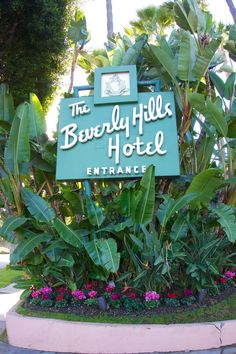 The Beverly Hills Hotel - been here to visit the rich relatives, and yes it is both eclectic and swank.