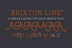 Brixton Line Pro (+Stylistic Alts) by Tom Chalky on @creativemarket