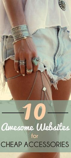 These 10 Lists of Cheap and Unique Online Stores are SO GOOD! I've already found SUPER CUTE clothes for an AWESOME price! I've also been able to find awesome deals on makeup and accessories! This is such an AMAZING curated post!  I'm definitely pinning for later!