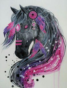 Watercolour art by Jonna Scandy-girl
