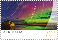 The Southern Lights (Aurora Australis) stamp issue is out now… Antarctica, Stamp Collecting, Tasmania, Postage Stamps, Over The Years, New Zealand, Northern Lights, Southern, Ocean