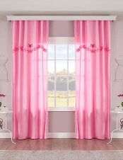 Vorhang «Rosa Pink» 1 Stück Satin, Curtains, Pink, Home Decor, Cheap Bathroom Remodel, Pink Curtains, Traditional Bathroom, Homes, Blinds