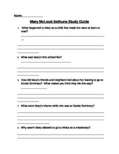 1000 images about third social studies on pinterest for Mary mcleod bethune free coloring pages
