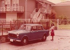 My 62 Fiat 1100 while station in Italy in 1978.