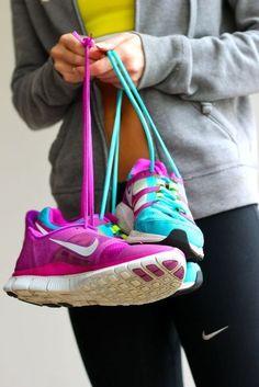 workout shoes  workout clothes
