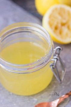 Easiest Lemon Dessert Sauce - perfect for pound cake, ice cream, pancakes, bread pudding ...