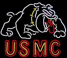 Usmc United States Marine Corps Neon Sign : Neon And More is the best place to find Military Neon Signs which includes Airborne Division Screaming Eagle Neon Sign, Flying Tigers Airplane Neon Sign, Foe Eagles Auxilary Neon Sign and many more.  http://www.neonandmore.com/neon-signs/other-neon-signs/military-neon-signs/usmc-united-states-marine-corps-neon-sign.html | neonandmore