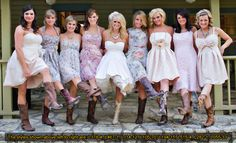 Awesome... I love country weddings..