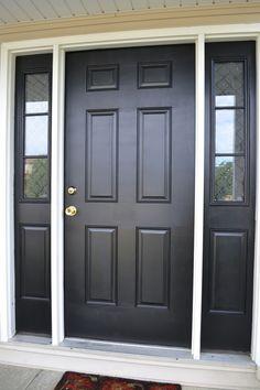 black front doors on pinterest