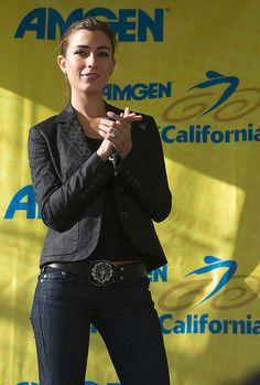 Tour of California Podium Girl