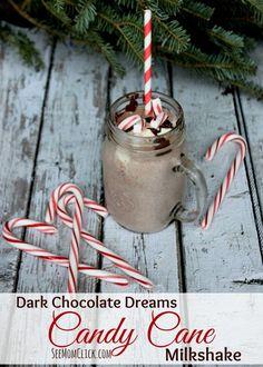 Candy Cane Milkshake Recipe